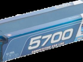 LRP LiPo Competition Car Line Hardcase 5700mAh 80C/40C 7,4V