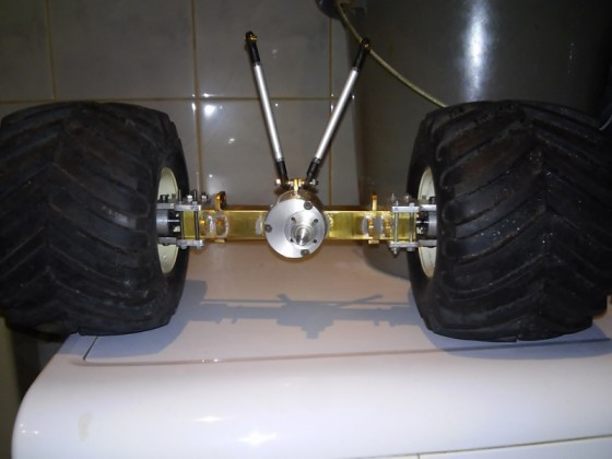 SHOGUN AXLE