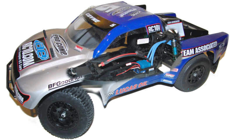 Thunder Tiger Team Associated SC10RS 2WD 2,4 GHz RTR #0307046